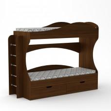 Двоярусне ліжко Бріз